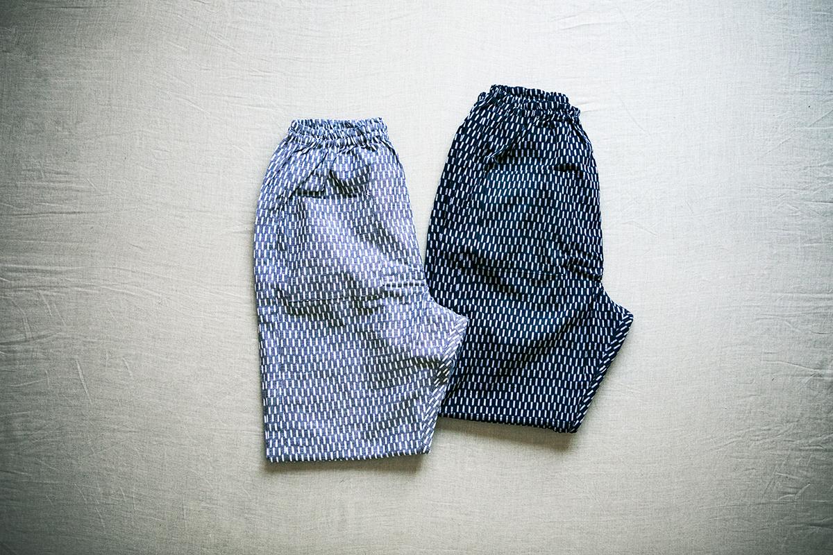 うなぎの寝床 現代風もんぺ 編み目 Stitch