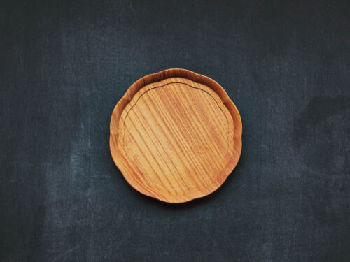 KITO 輪花盆(小)/四十沢木材工芸