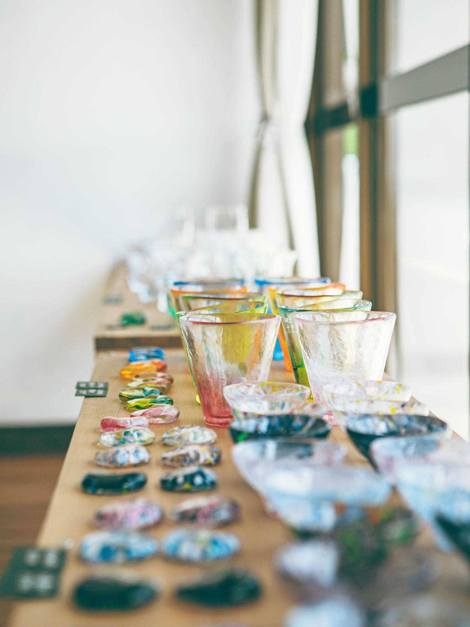 富硝子のガラス展