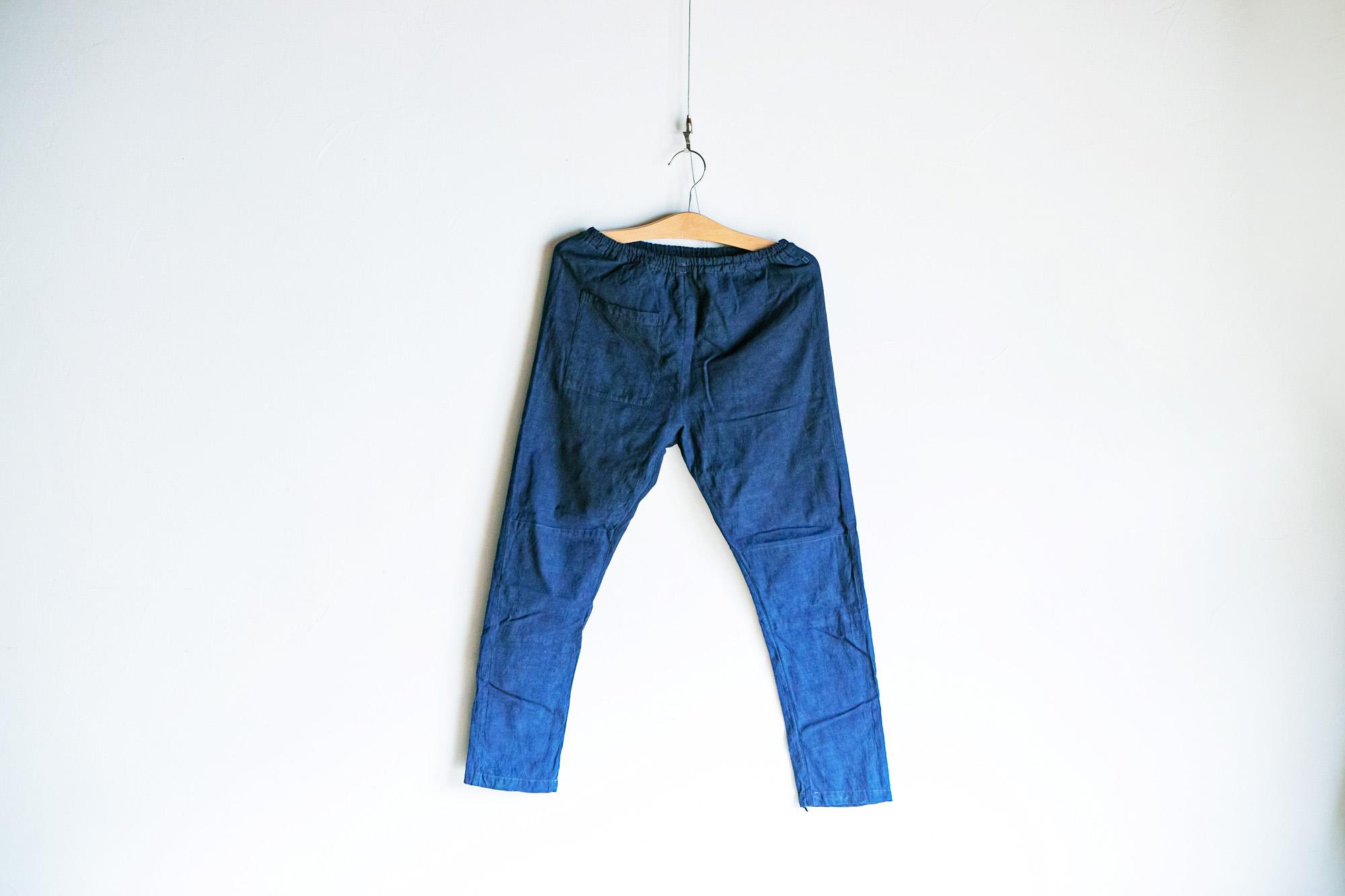 藍染めビフォーアフター