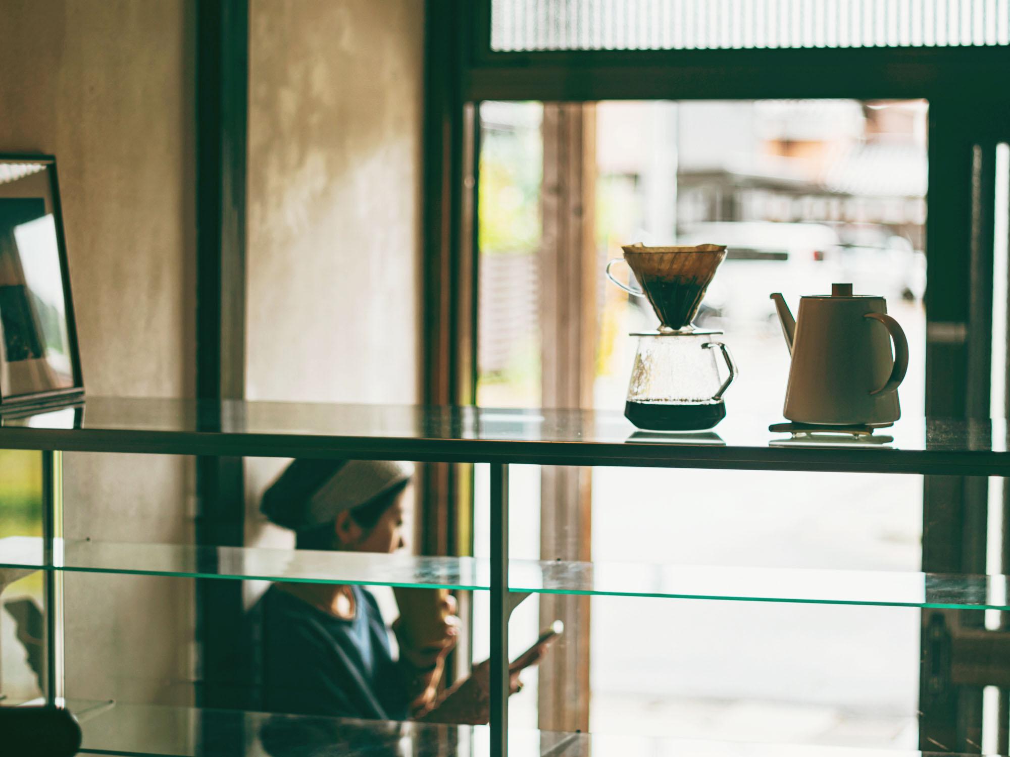 但馬東洋珈琲のコーヒースタンド
