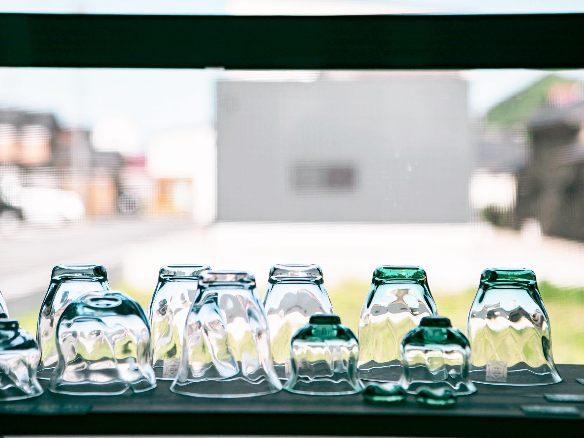 富硝子 小樽ガラス