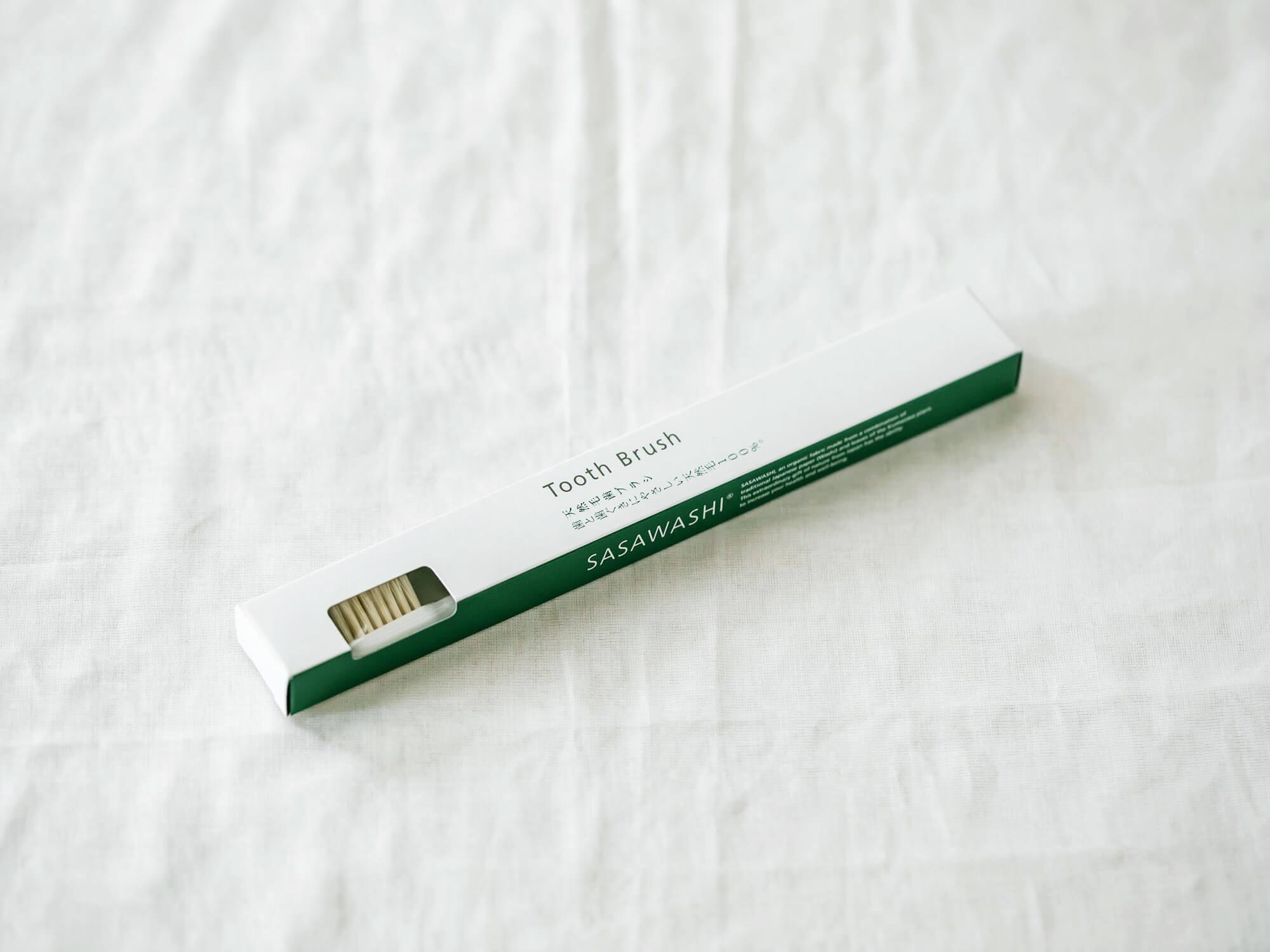 SASAWASHI 天然豚毛歯ブラシ (ふつう)