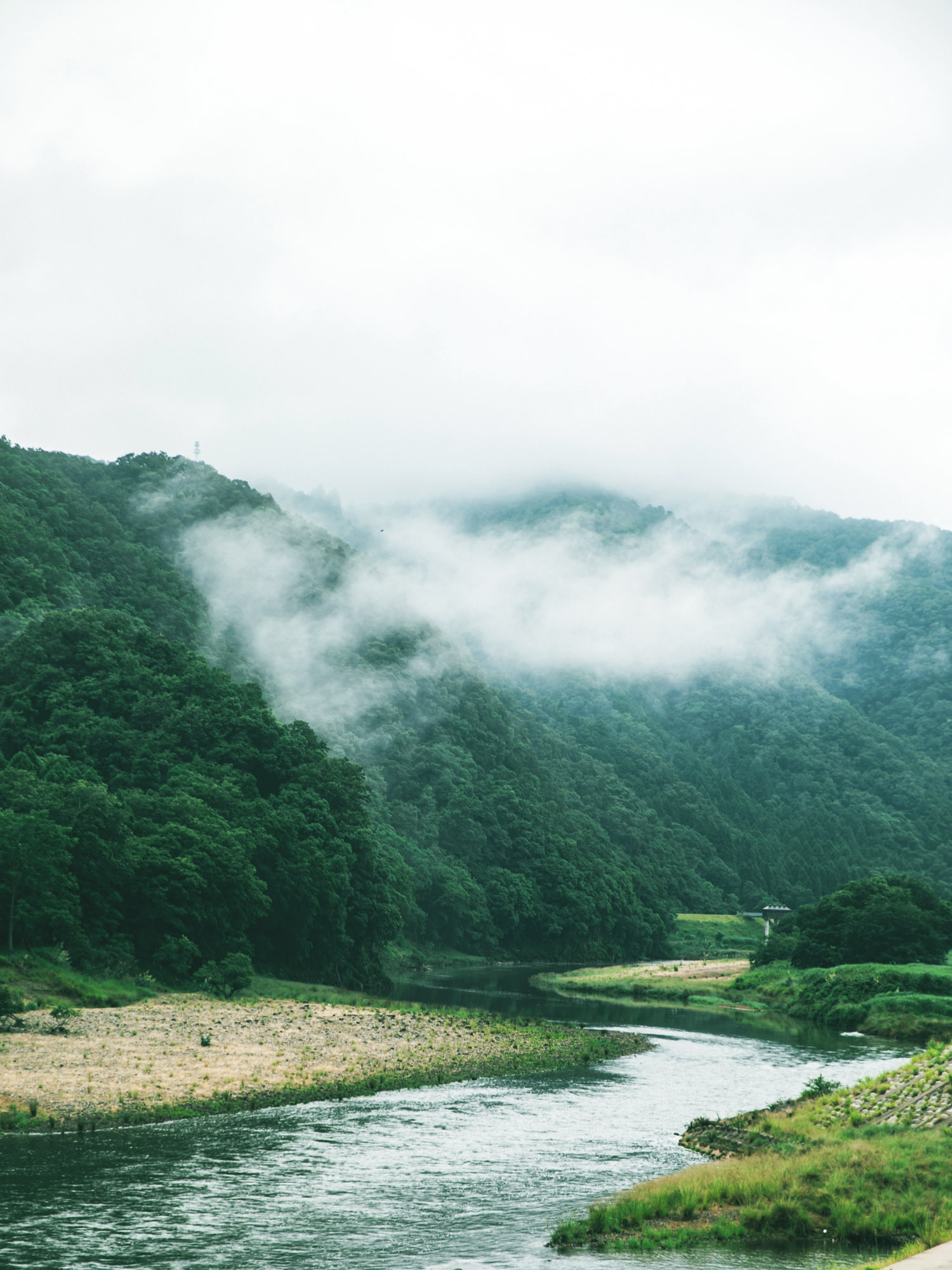 豊岡の風景
